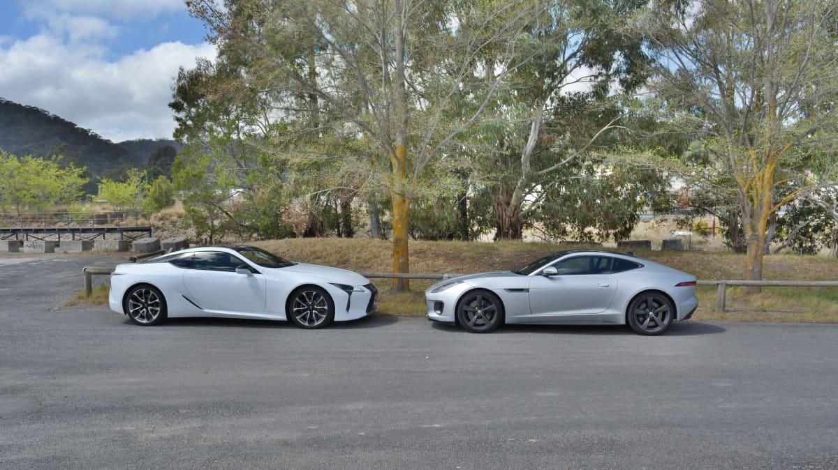 2017 Jaguar F-Type 400 Sport v Lexus LC500