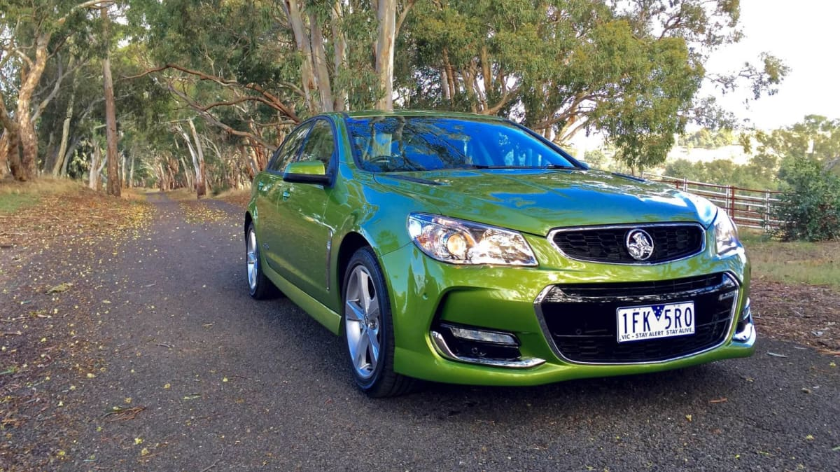Holden Commodore SS REVIEW: Driving The Green Dream