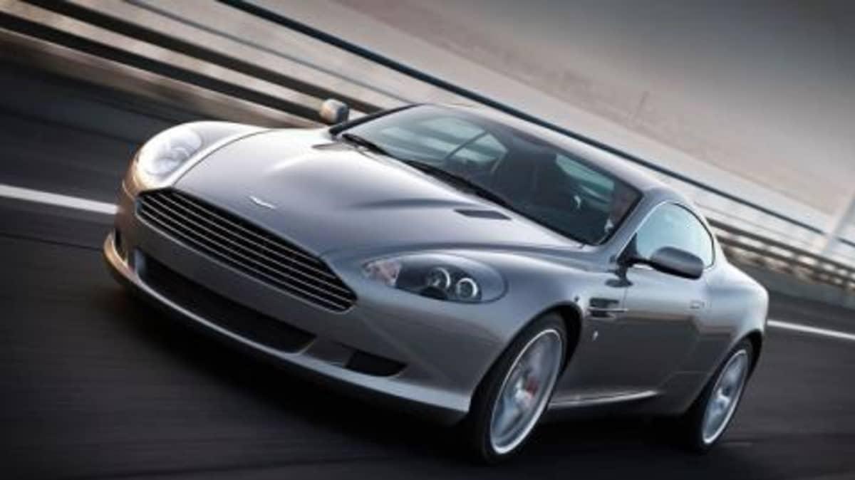 2009 Aston Martin DB9 upgraded