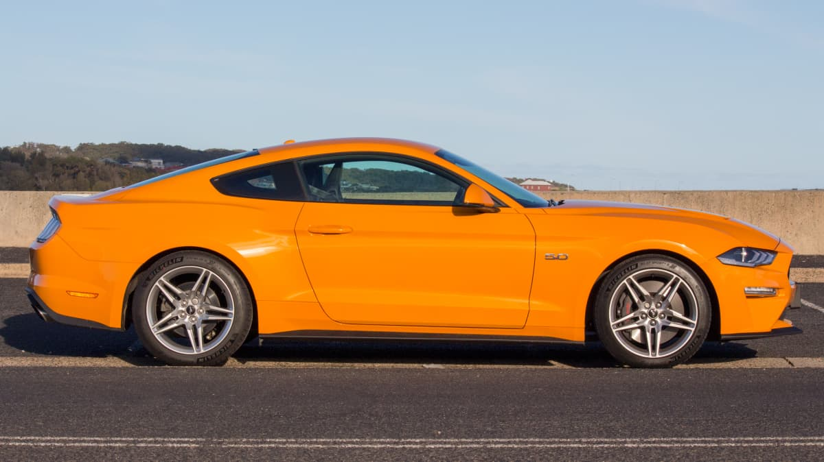 2018 Ford Mustang GT.