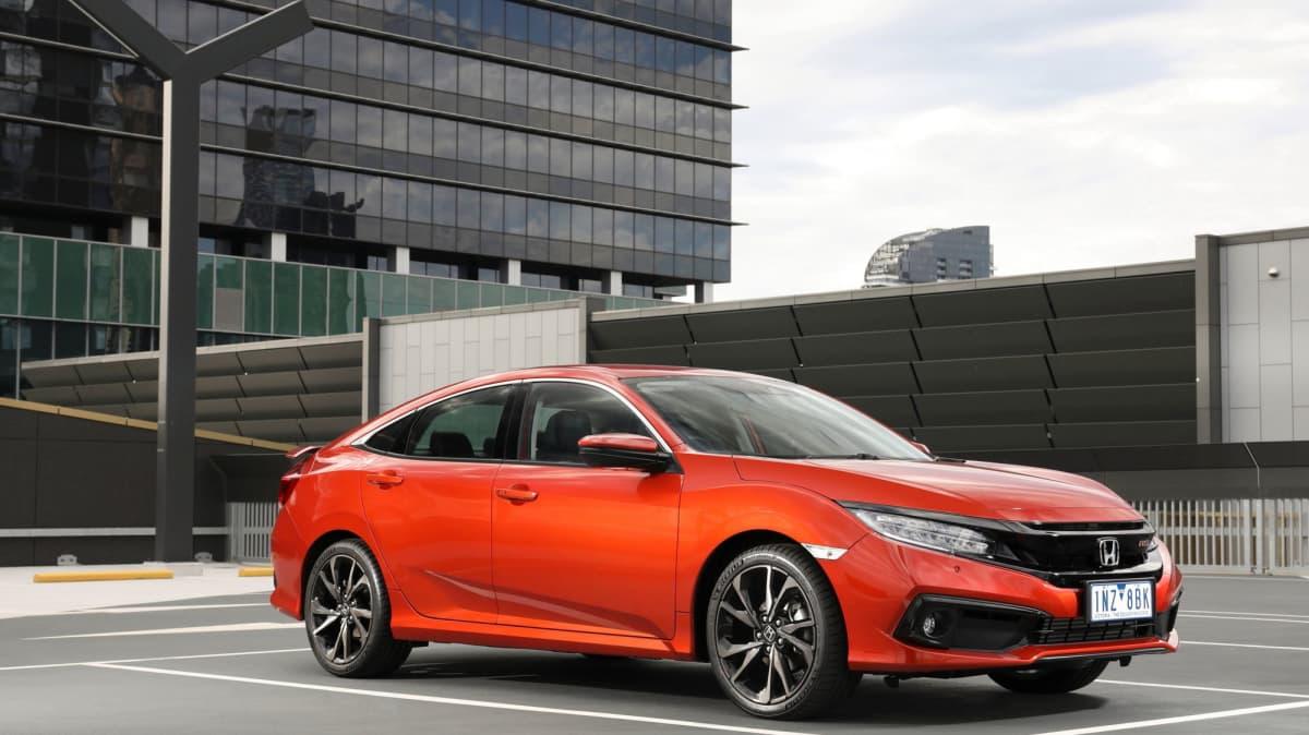 Honda improves safety for Civic sedan