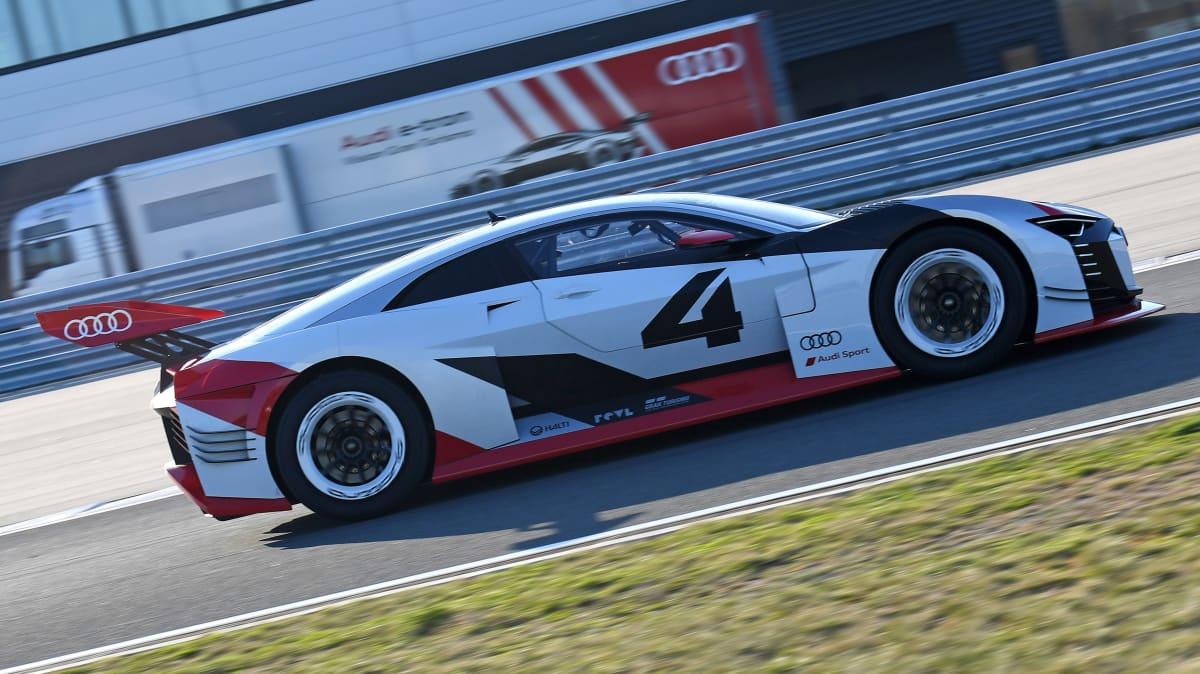 Audi e-tron Vision Gran Turismo.