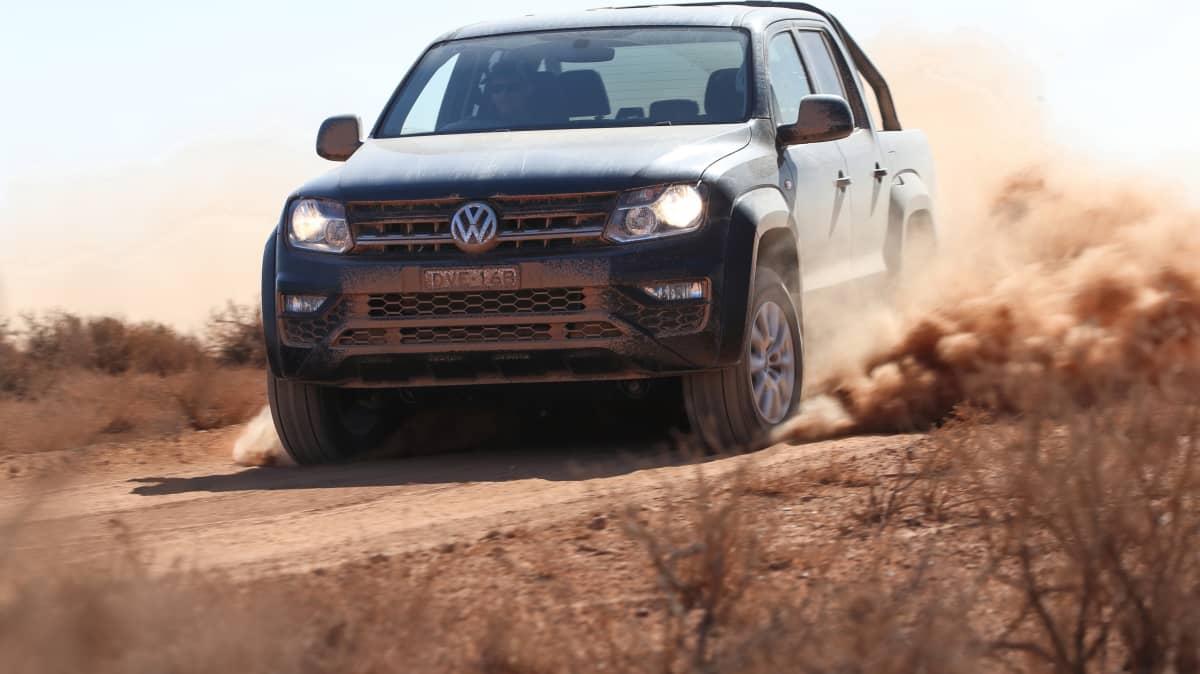 Outback Comparison Test - Volkswagen Amarok V6 Ultimate