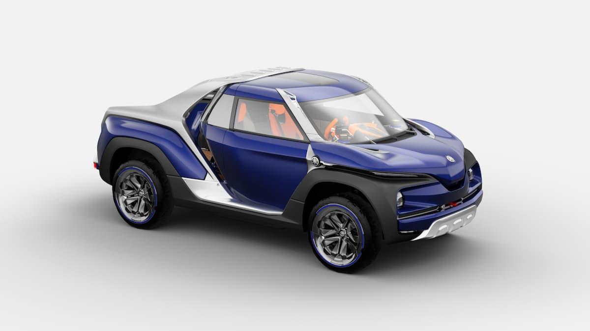 Yamaha Cross Hub Ute Concept Unveiled At Tokyo Motor Show