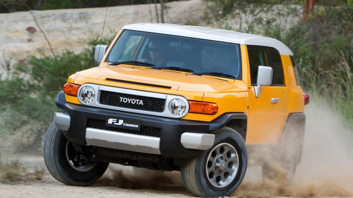 2013 Toyota FJ Cruiser Adds CRAWL System And Greater Range For Australia
