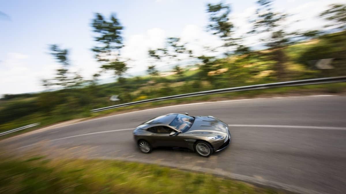 2017 Aston Martin DB11.