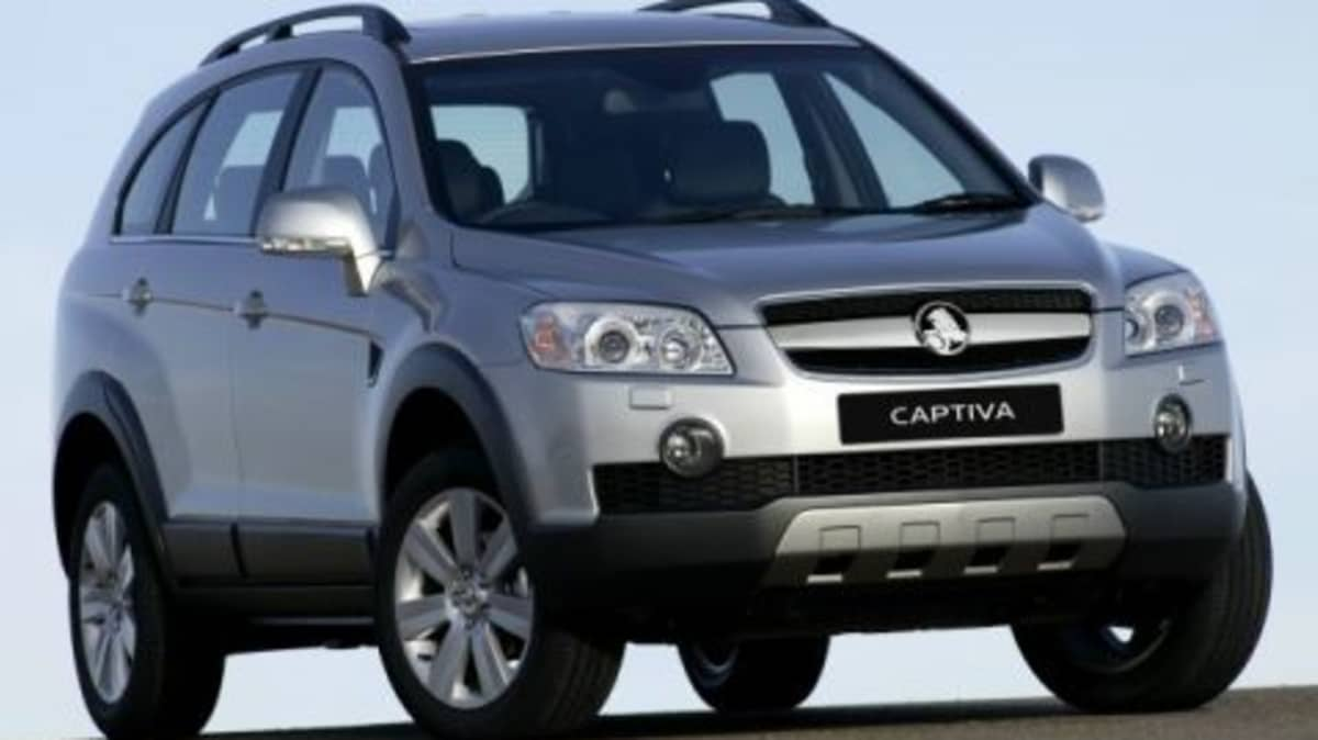2009 Holden Captiva Now Comes With Seven Seats Across The Range