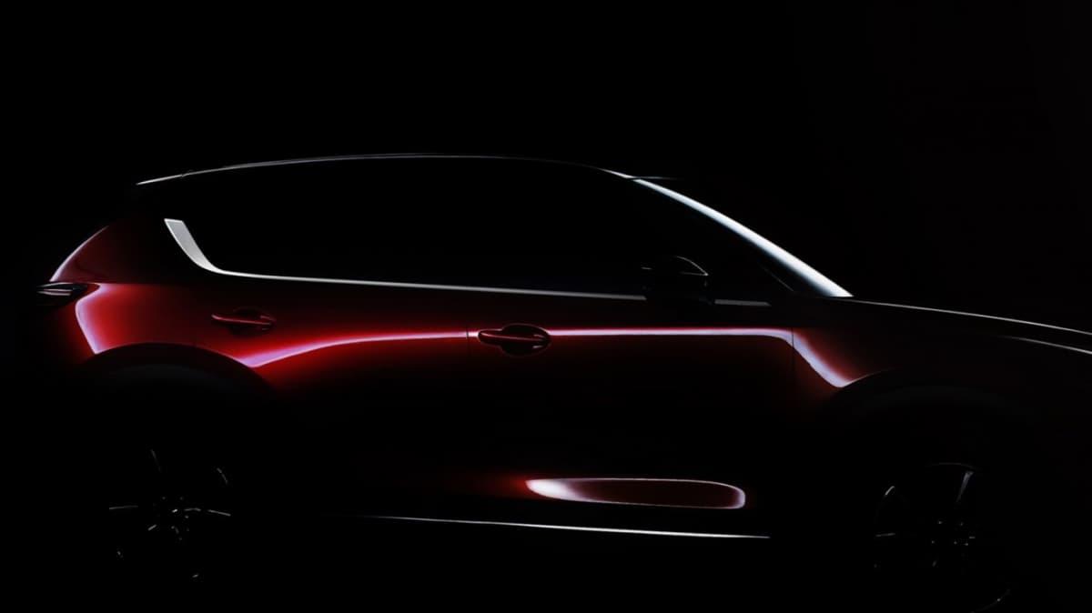 2017 Mazda CX-5 Teased Ahead Of LA Auto Show Debut