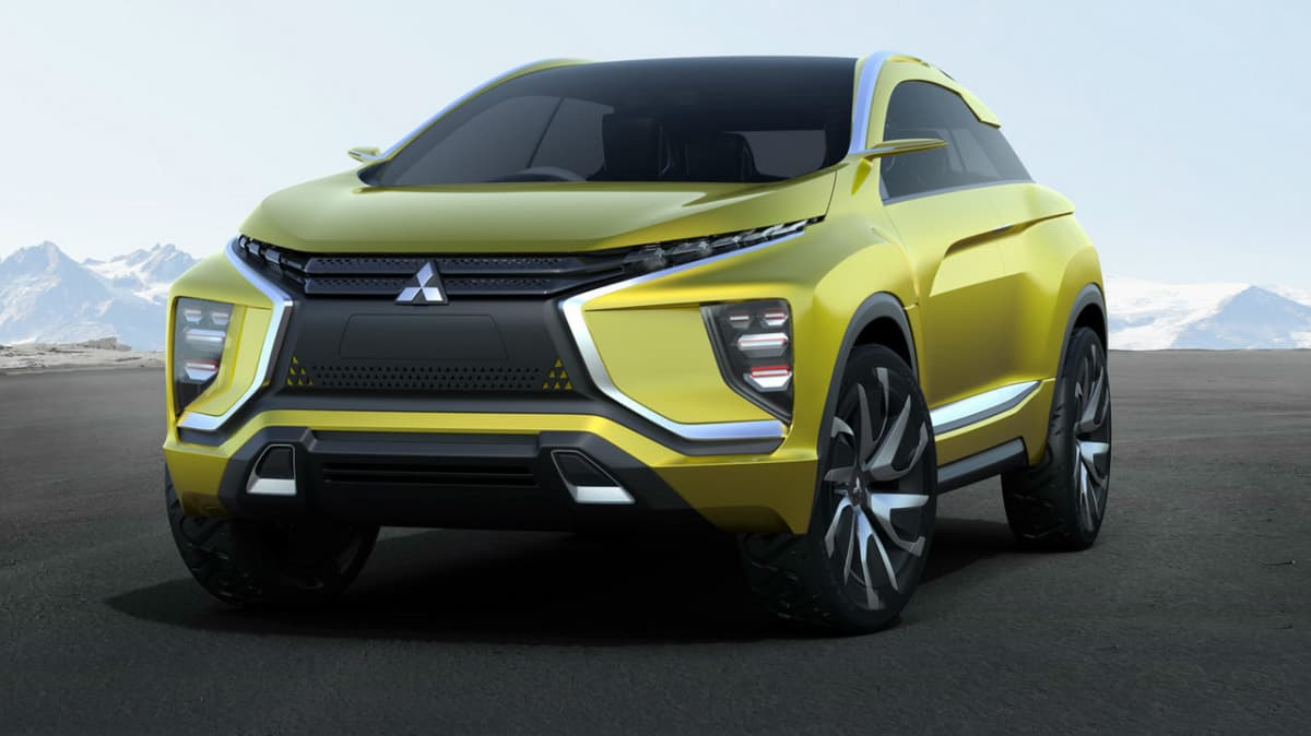 Mitsubishi EX Concept Basis For Next ASX, New Mid-tier Compact SUV Coming