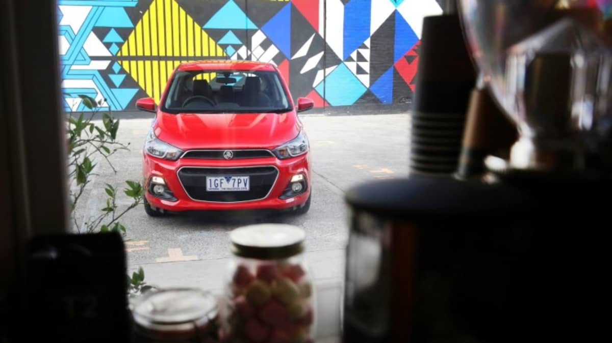 Holden will team-up with Gelato Messina in a series of pop-up stores to promote its new Barina Spark