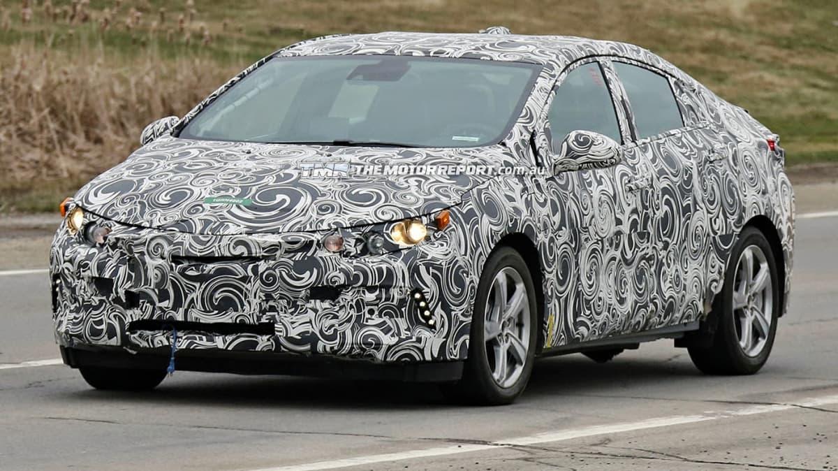 2016 Holden Volt Spied During Testing