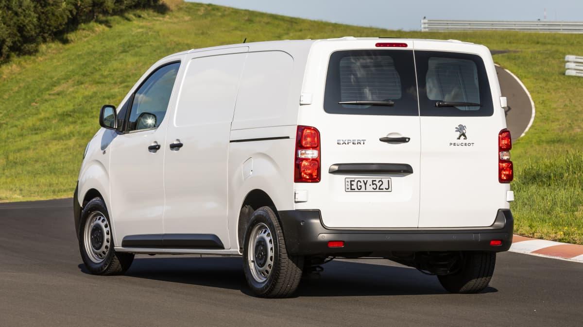 Drive 2021 Best Van finalist Peugeot Expert 6 rear exterior view