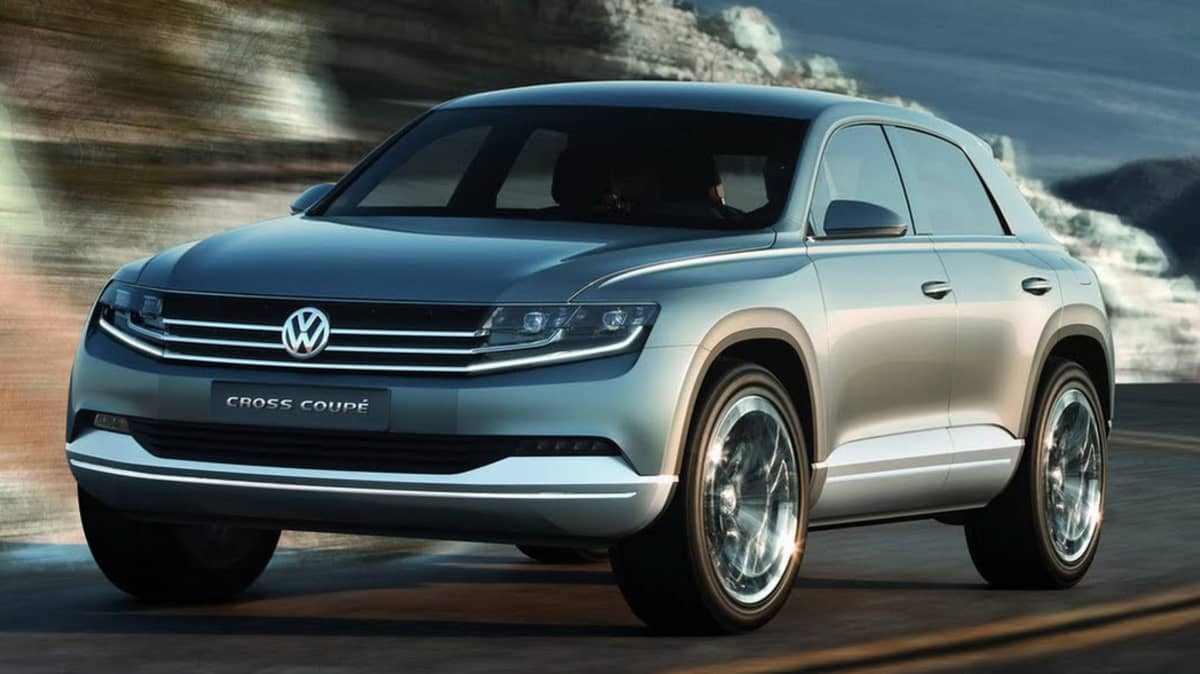 Volkswagen Cross Coupe SUV Concept Lands In Tokyo
