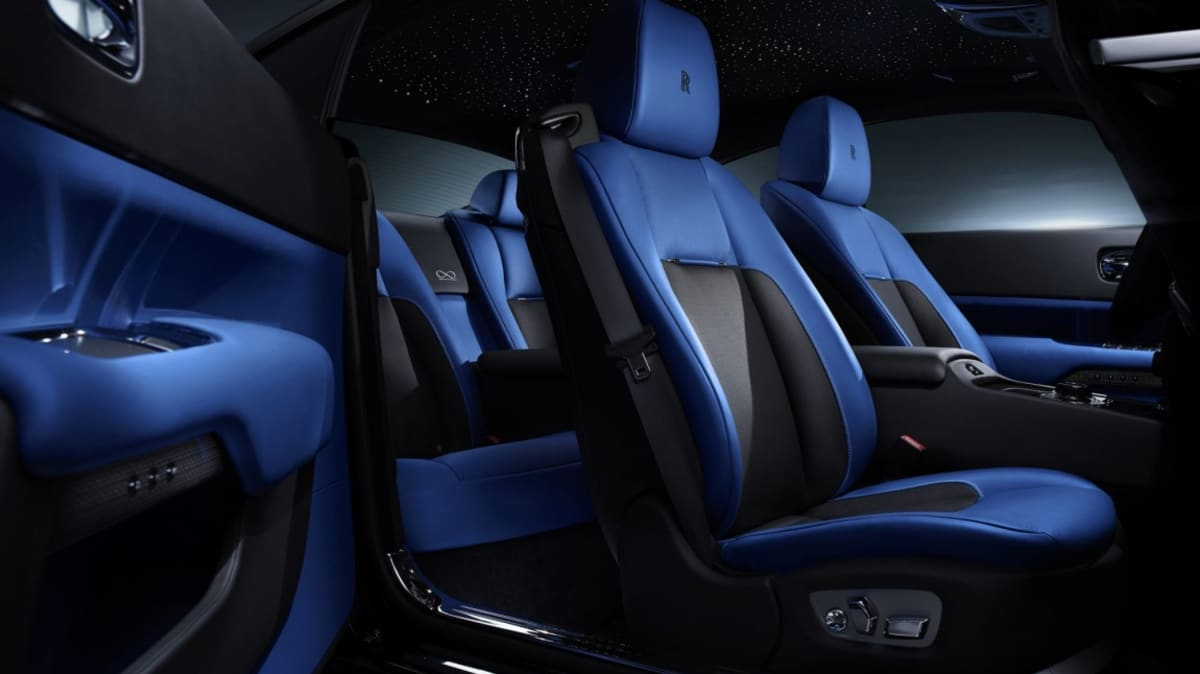 Rolls-Royce has added the new Black Badge series Wraith to its range to appeal to younger, edgier buyers.