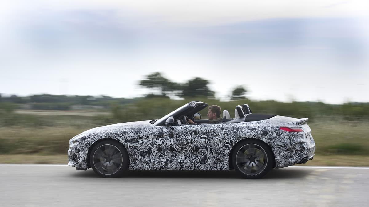 2018 BMW Z4 Roadster Prototype