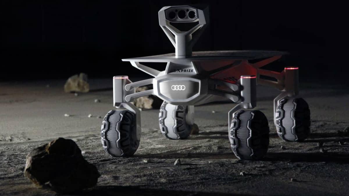 Audi Lunar Quattro Set For Space Launch In 2017