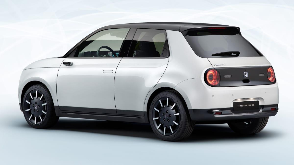 2020 Honda E revealed in production trim