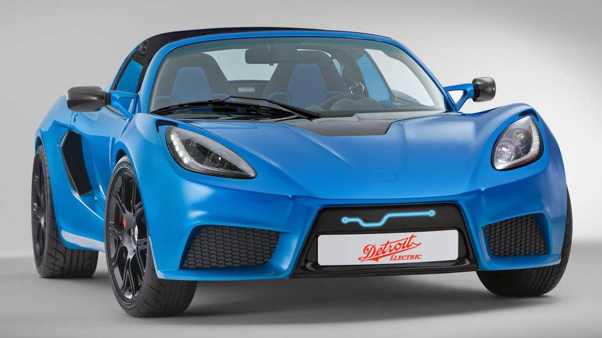 Detroit Electric Reveals SP:01 EV Ahead Of Shanghai