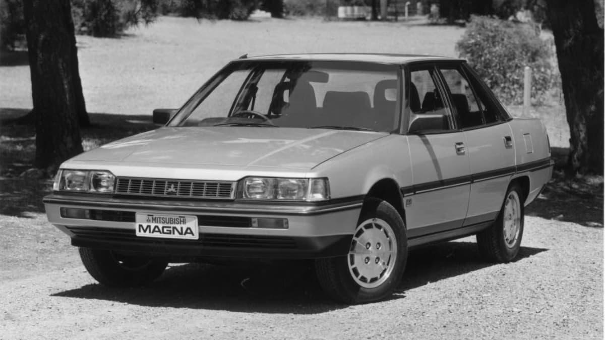 1985 Mitsubishi Magna.