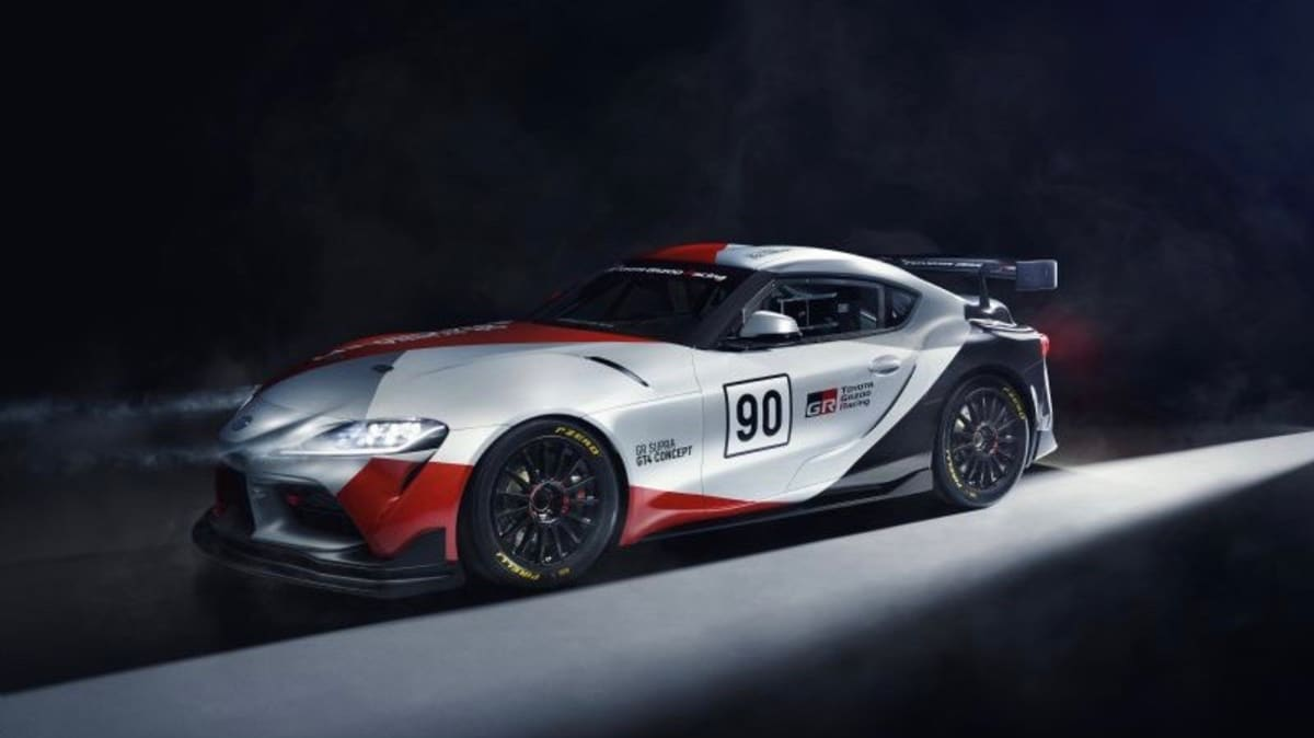 Toyota Supra GT4 Concept revealed