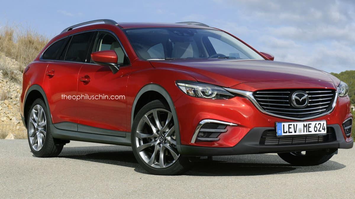 Mazda6 '6X' AWD SUV Wagon Rendered