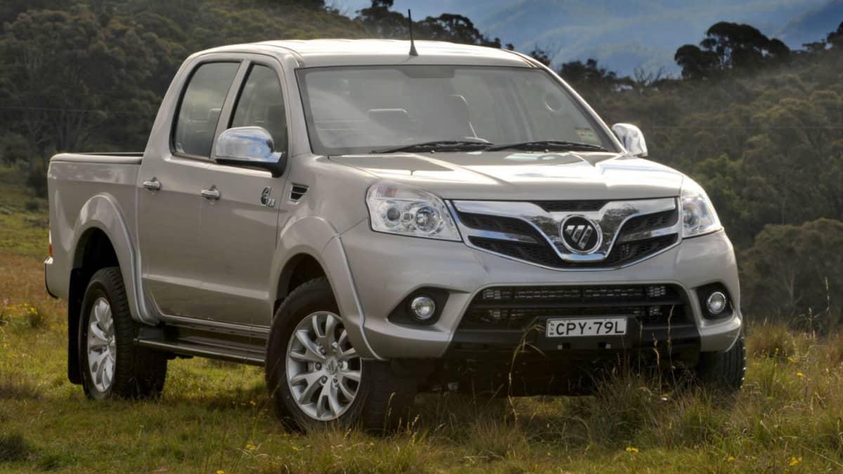 Foton Tunland Relaunched In Australia, Cheaper 4WD Dual Cab Model