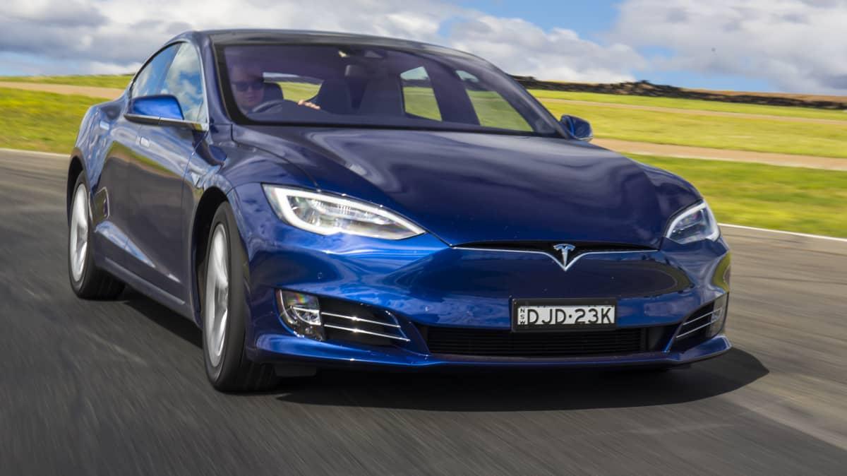 Tesla Model S.