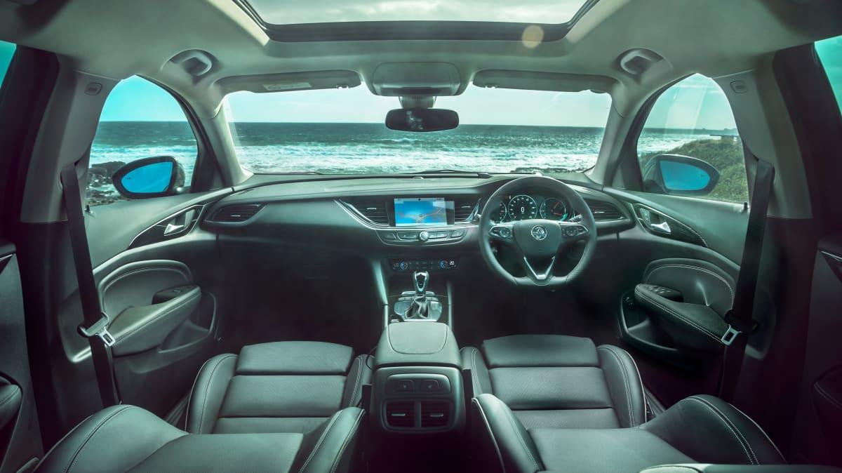 Holden Commodore Tourer V interior.