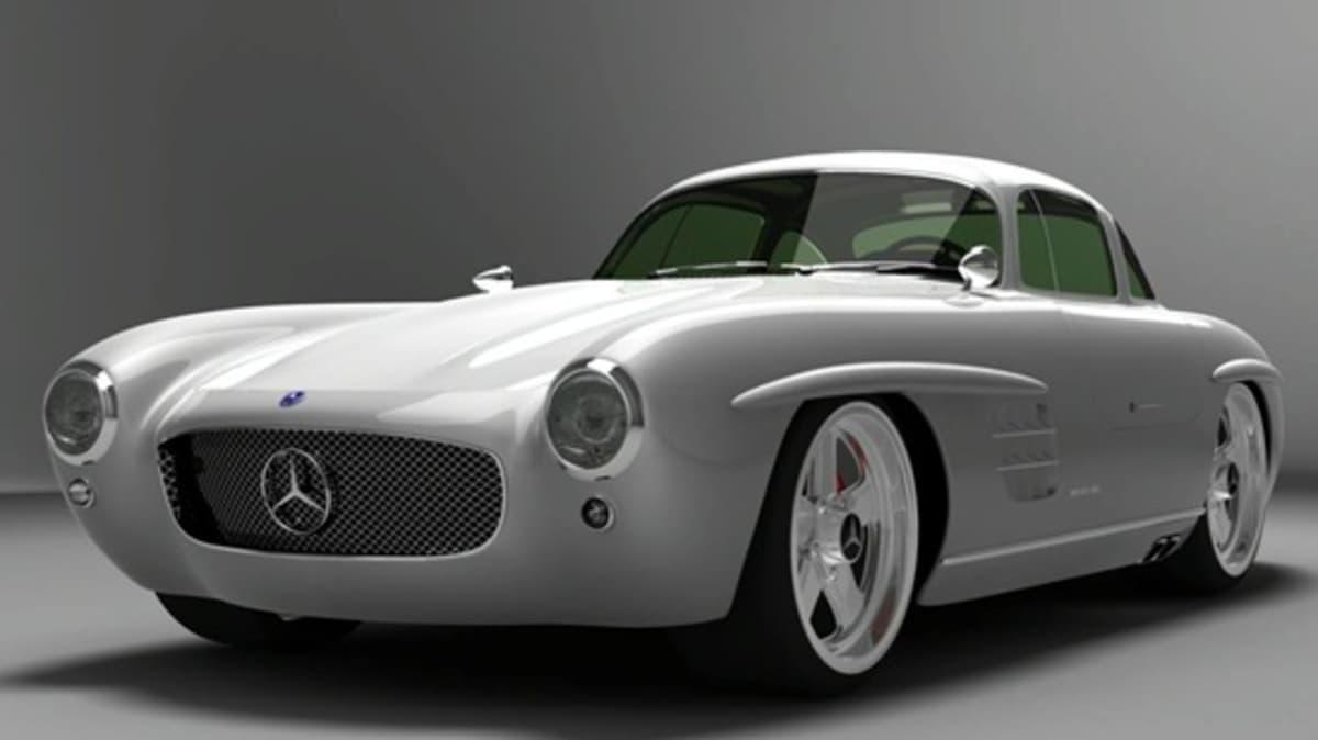 Mercedes-Benz 300SL Panamericana Concept Revealed