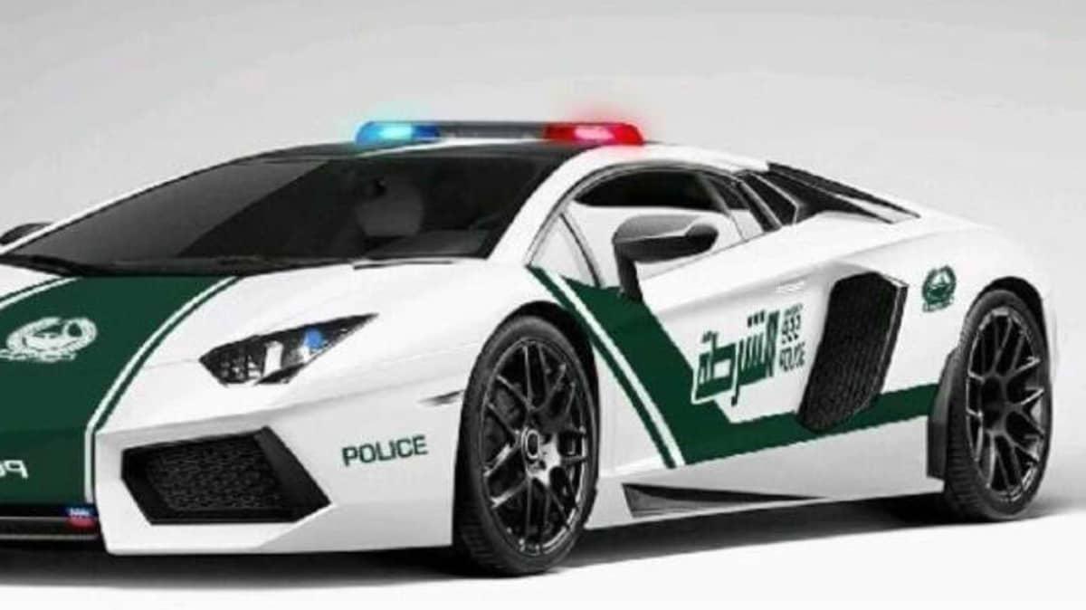 Dubai Police Enlist Lamborghini Aventador