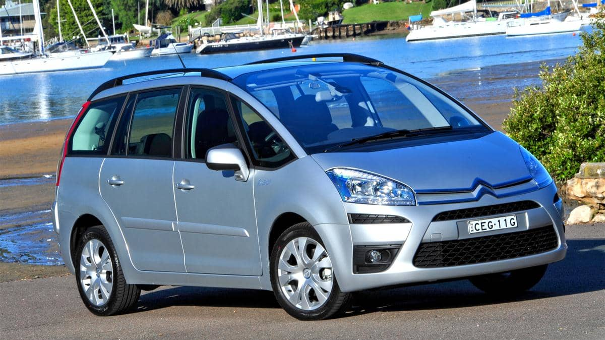 Citroen C4 Picasso Adds Vision Pack