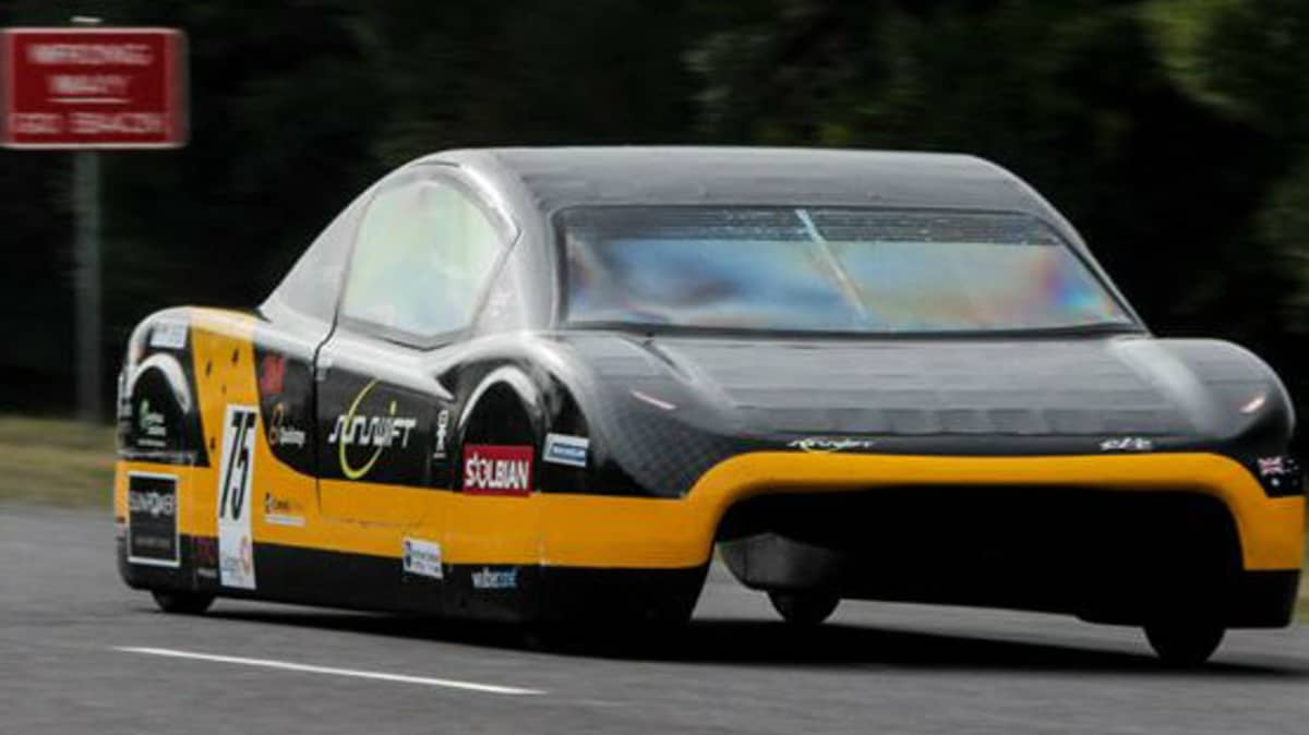 FIA Recognises University Of NSW's Electric Speed Record Claim