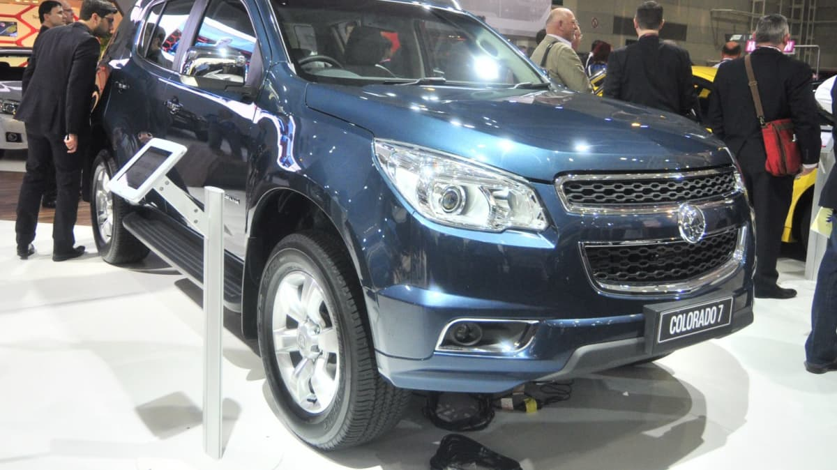 Holden Colorado 7 On Sale In Australia From December - AIMS