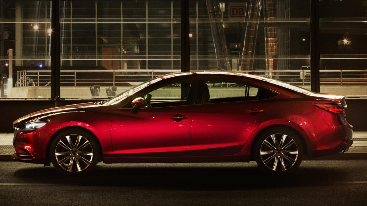 Mazda says its new Mazda6 turbo is not a high-performance car.