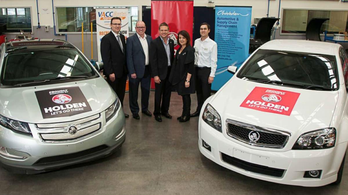 Automotive Training: Holden Donates Eleven Cars To TAFE Institutes