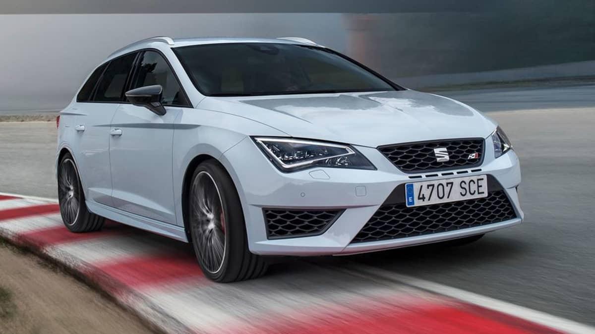 2015 Seat Leon ST Cupra Revealed