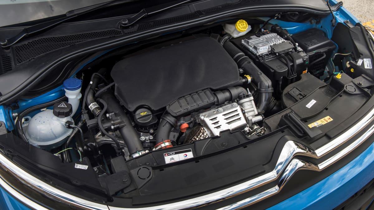 2018 Citroen C3 1.2-litre engine.