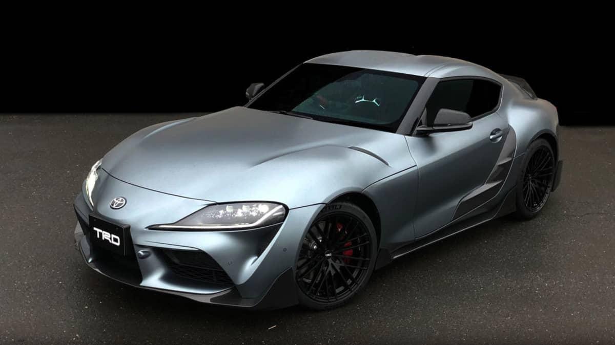 Toyota reveals Supra TRD concept