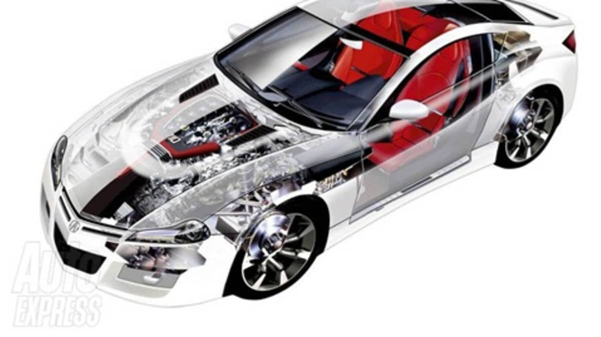 2010 Honda NSX Innards Revealed, Translucent Skin Not On Feature List
