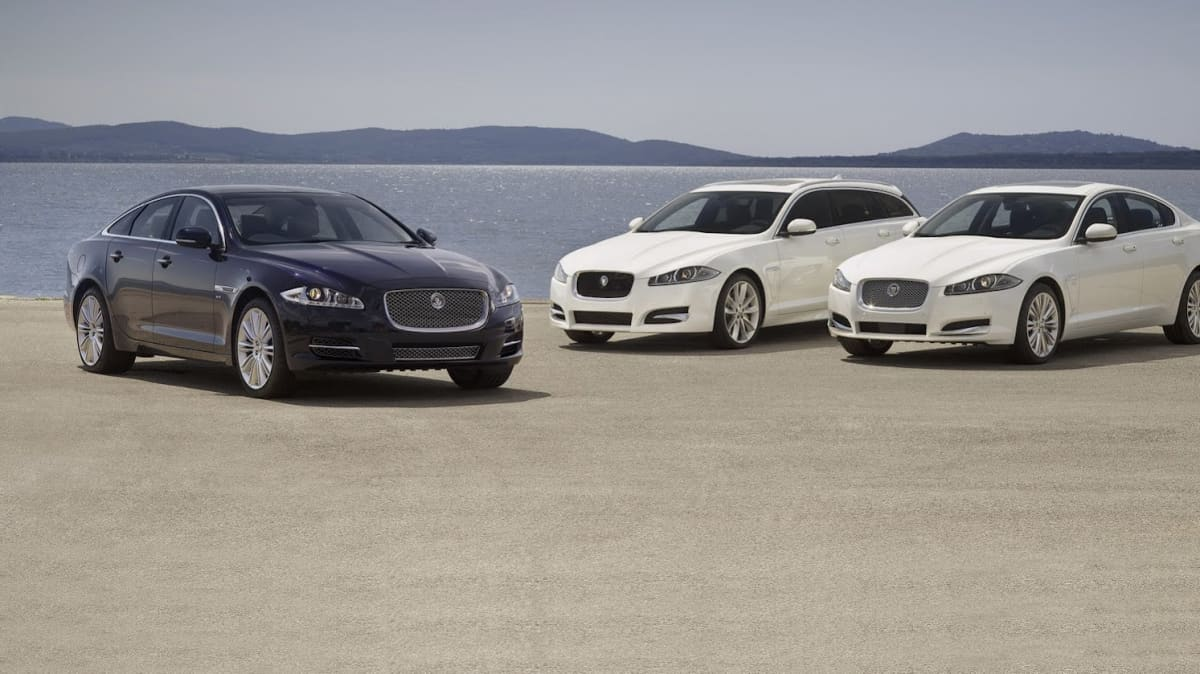 Jaguar Swaps V8 For Super V6 In XF And XJ, 8-Speed Auto For All