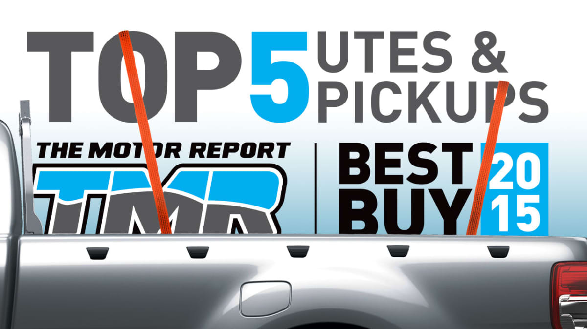 The 'TOP 5' Utes And Pickups For 2015: Ranger, BT-50, D-Max, Hilux, Amarok