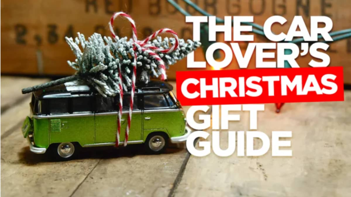 The car lover's Christmas gift guide for 2020!