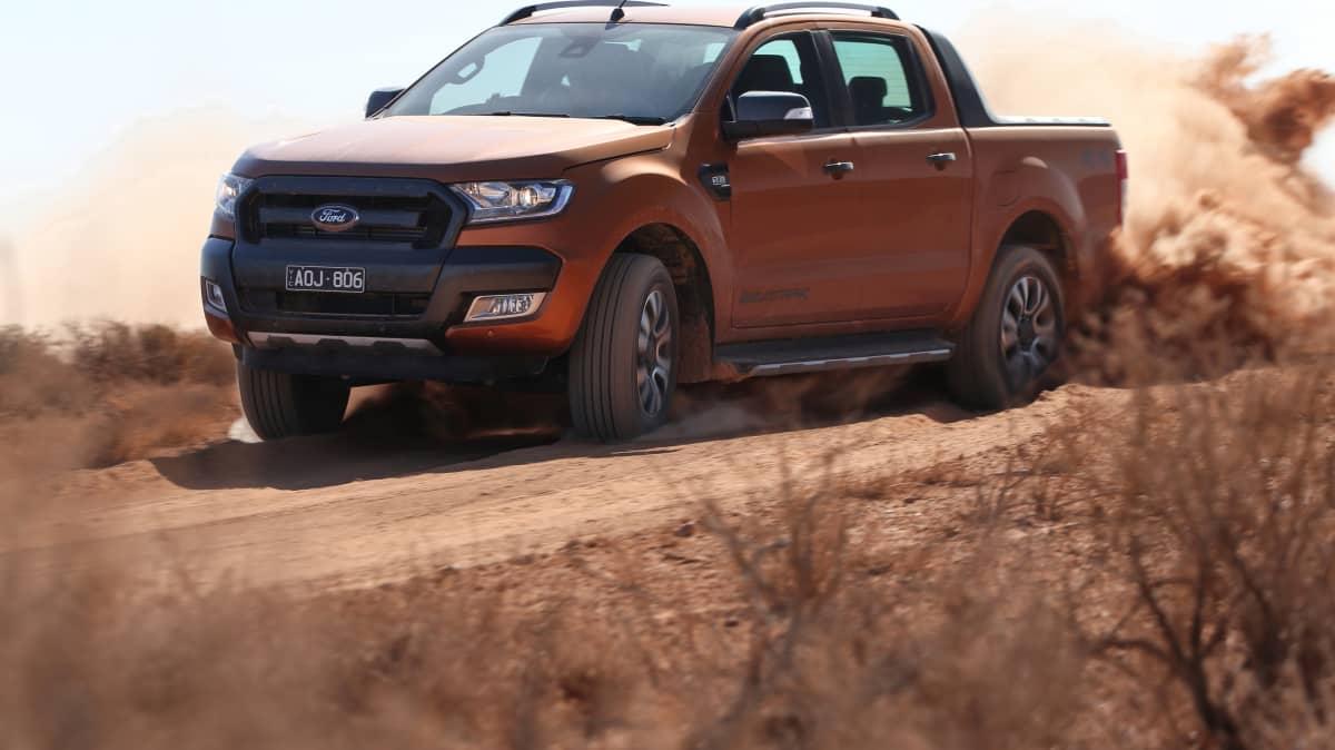Outback Comparison Test - Ford Ranger Wildtrak