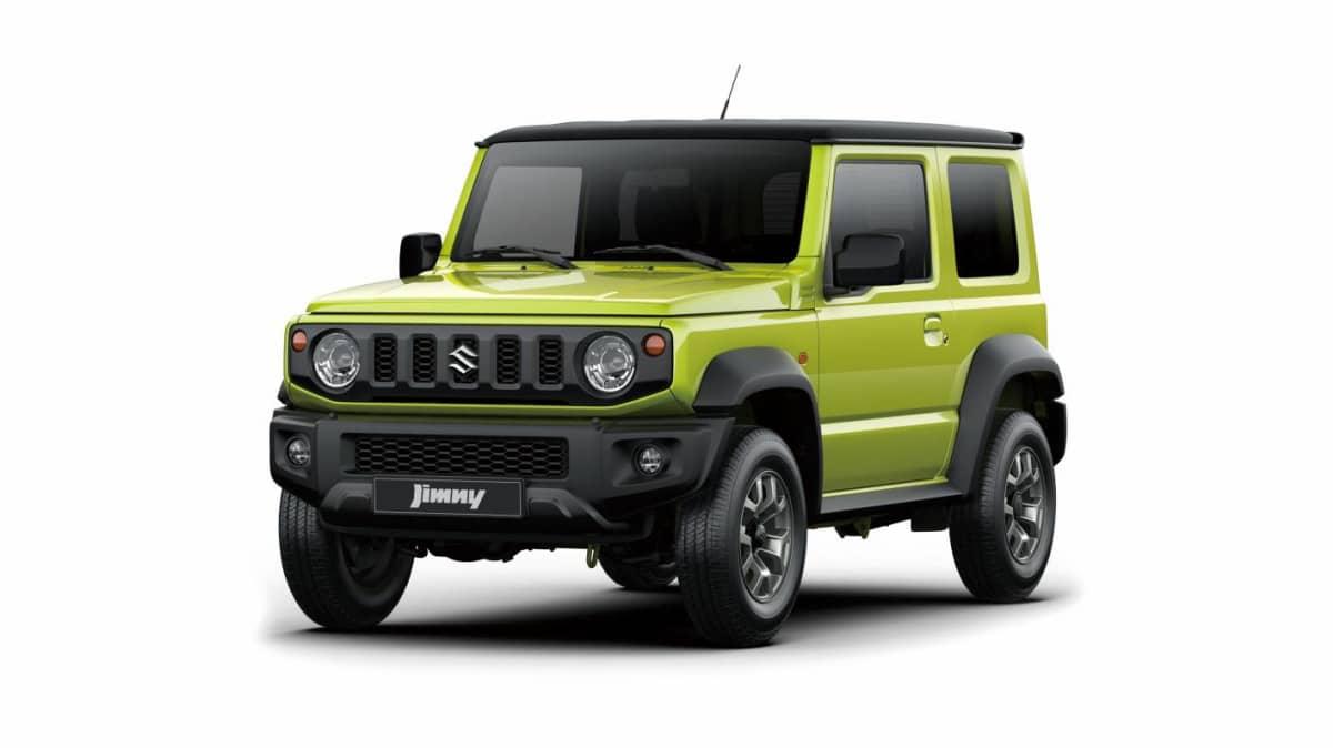 2019 Suzuki Jimny revealed