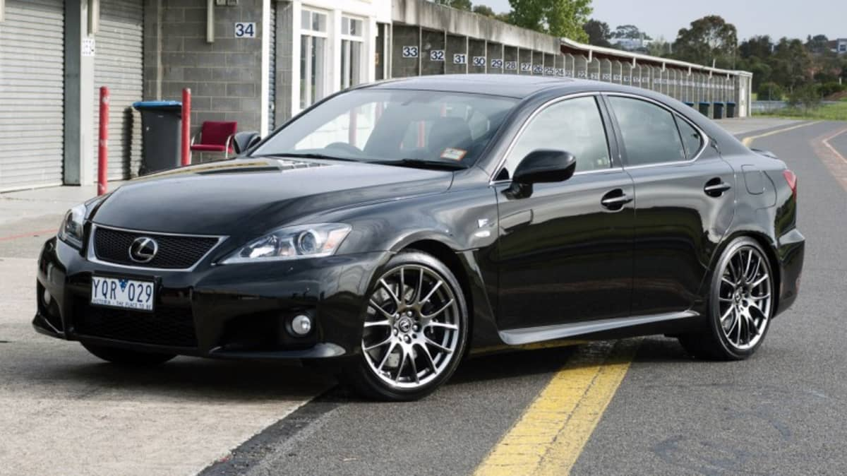Lexus IS F: Final Example Rolls Off Japanese Production Line