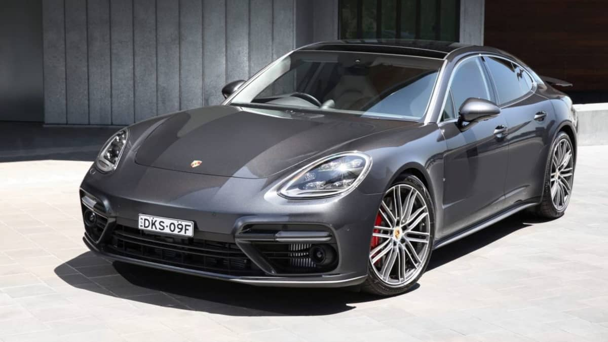 2017 Porsche Panamera Turbo.