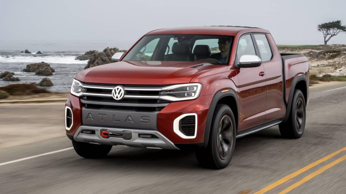 Volkswagen Tanoak Concept preview drive