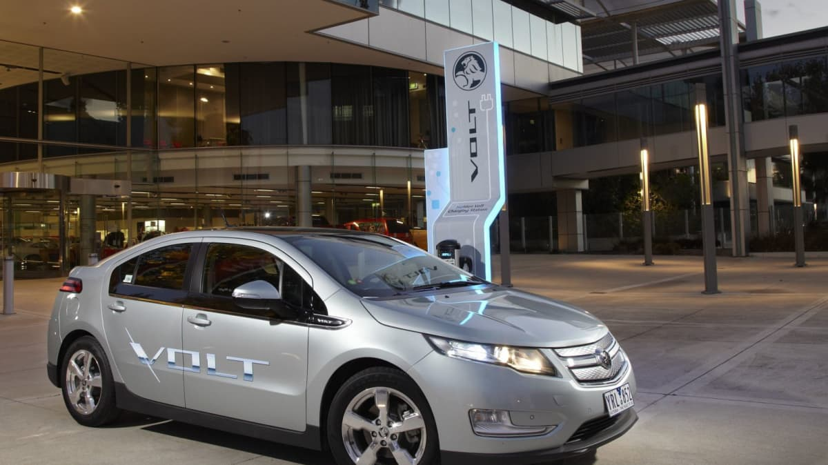 Holden Launches Volt Charging Point At Port Melbourne HQ