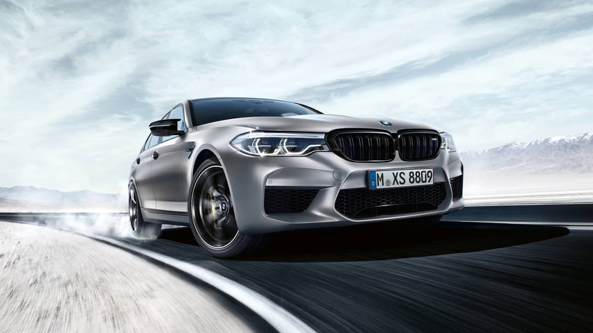 2019 BMW M5 Competition.