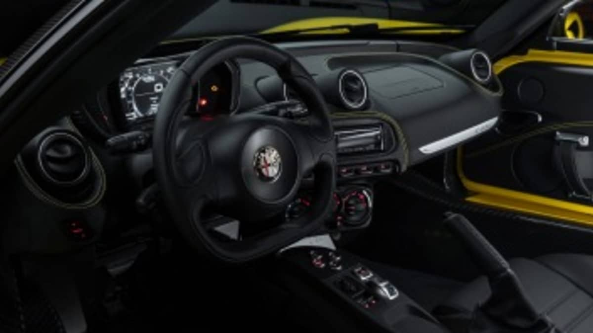 Inside the 4C Spider.